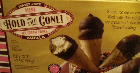 Hold The Cone Drumsticks Trader Joe's