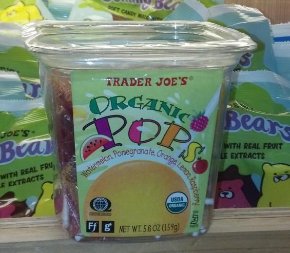 Organic Pops Trader Joe's