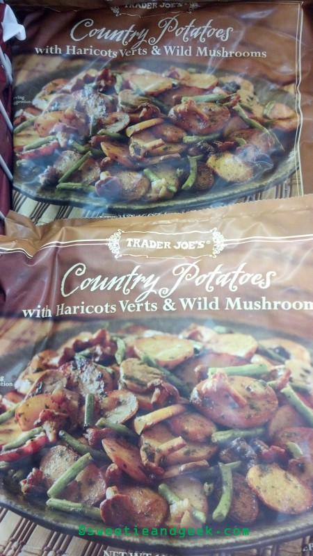 Country Potatoes with Haricots Verts and Wild Mushrooms Trader Joe's
