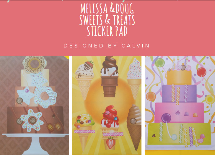 melissa and dougs weets and treats sticker pad my first art toddler