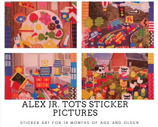 sticker art supplies for toddlers