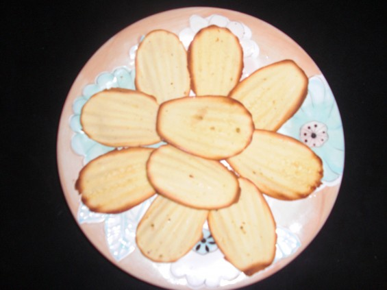 Madeleine Cookies Recipe