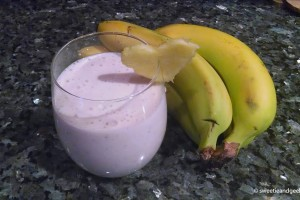 Bananas and Smoothie