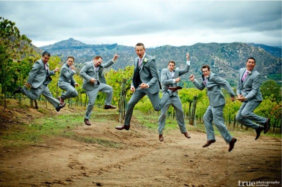 wedding jumping photoshoot