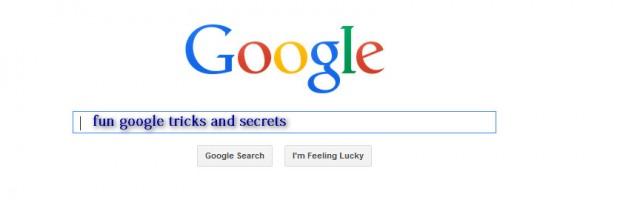 cool google tricks