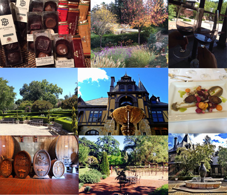 Beringer Napa Valley kids friendly wineries