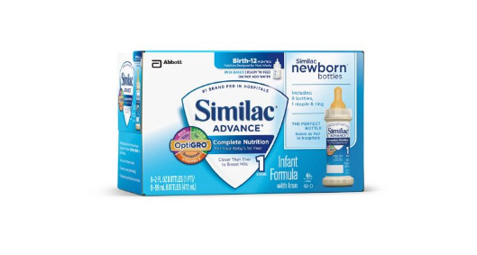 baby check list similac formula to go