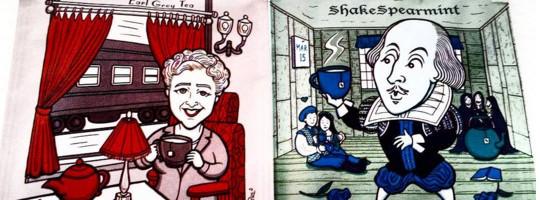 Shakespearmint & Agatha ChrisTea collectiables