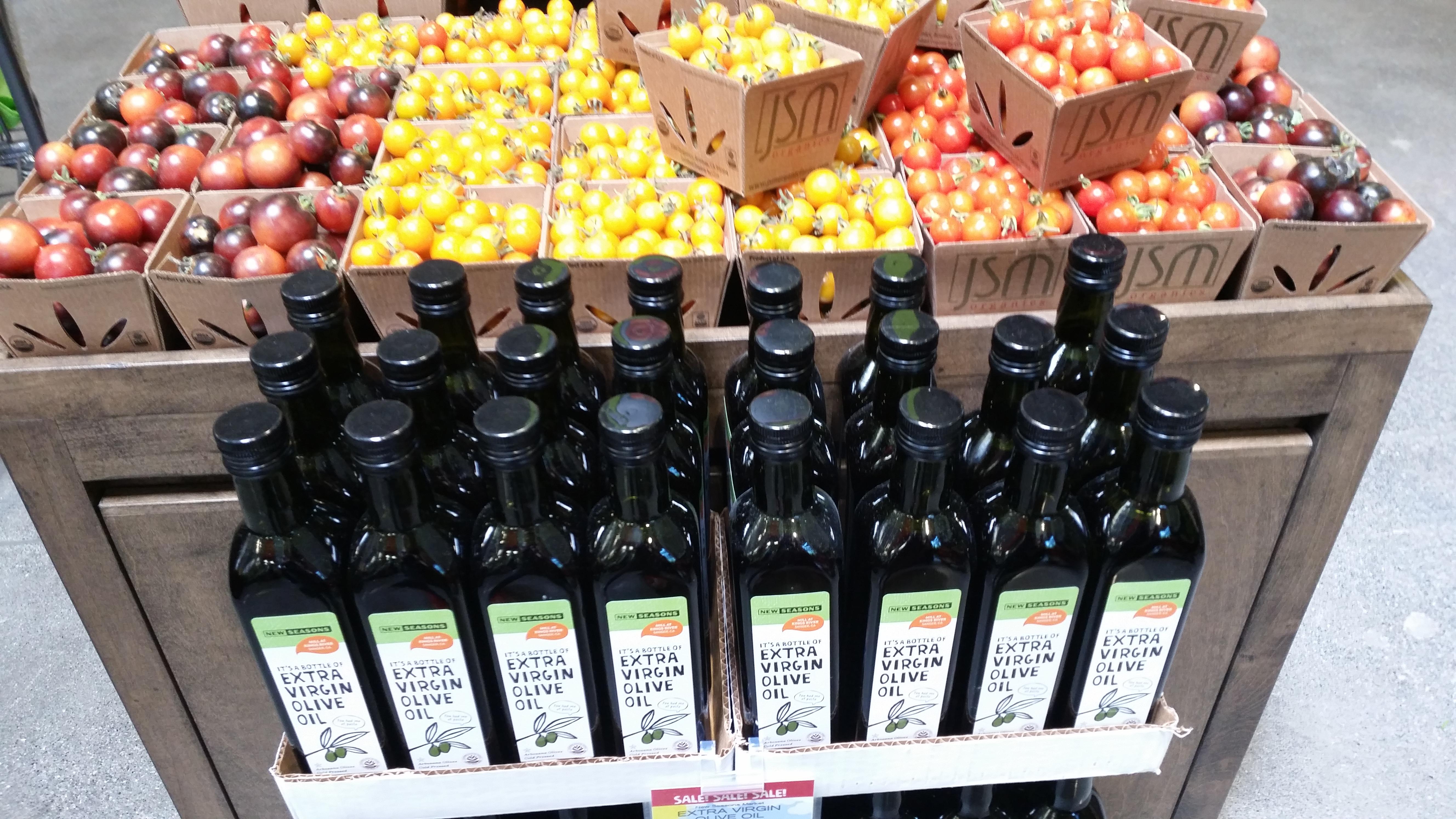 olive oil new season market brand