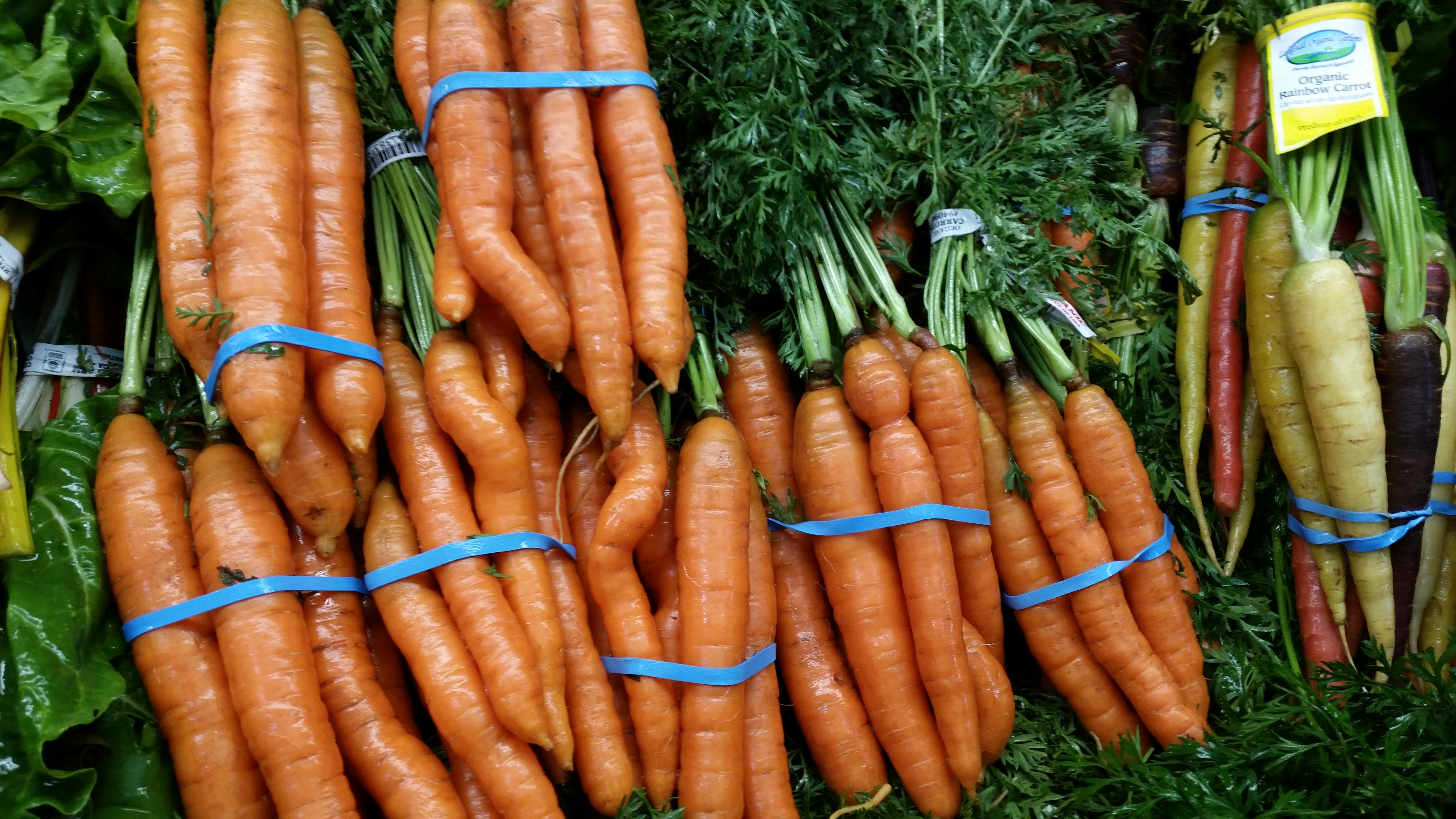 carrots organic new season market what to buy
