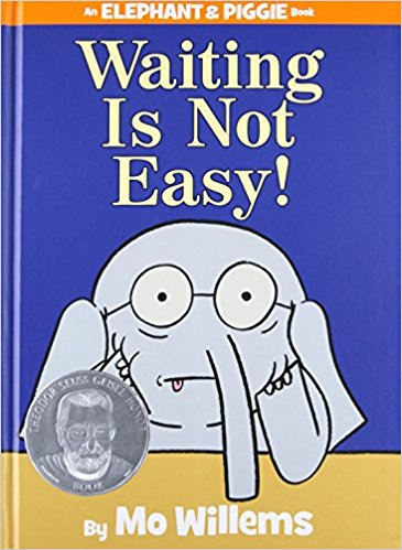 waiting is not easy books with value