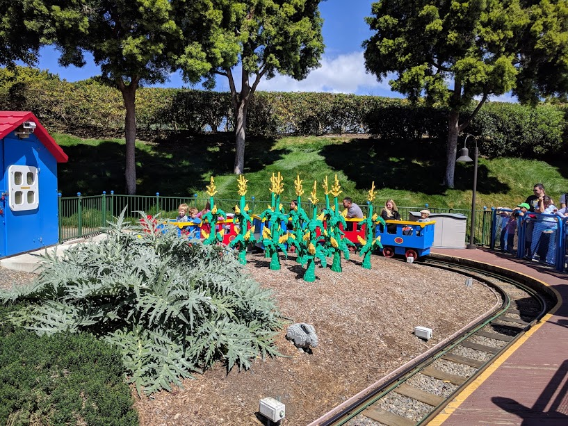 legoland express train toddler park