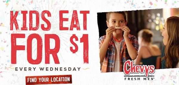 kids eat free chevys bay area