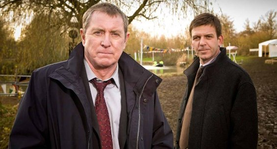 british detective shows on Amazon and Netflix